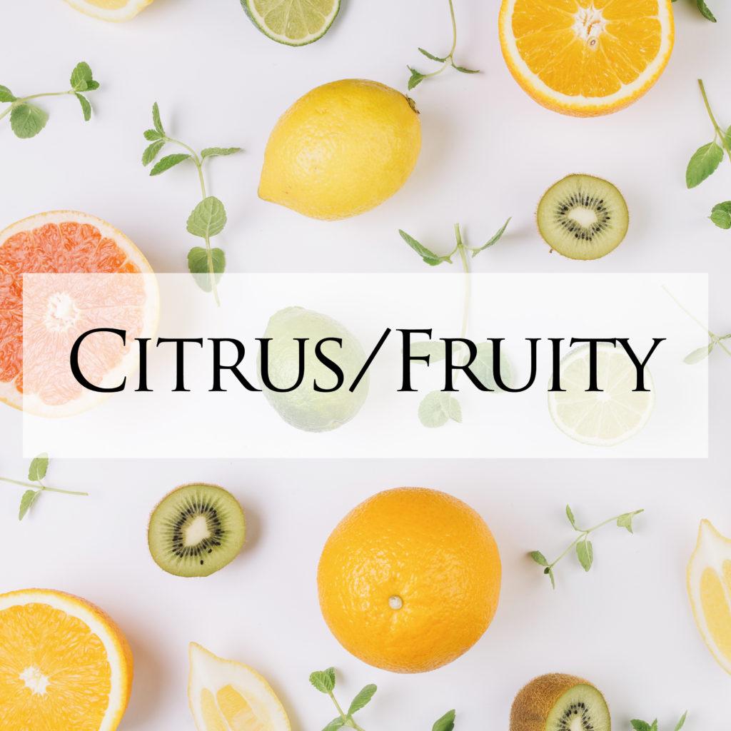 Citrus,Fruity,น้ำหอม,สร้างแบรนด์,กลิ่นน้ำหอม
