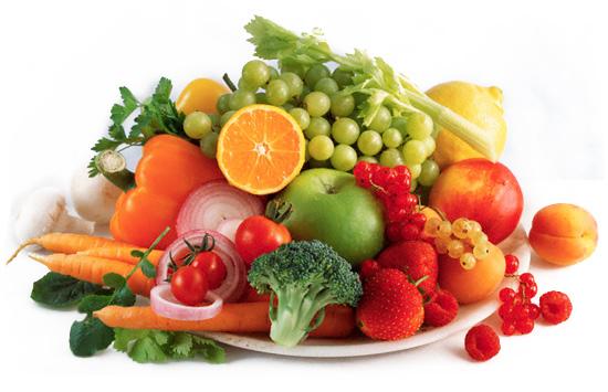 วิธีดูแลผิวหน้าฝน กินผักผลไม้
